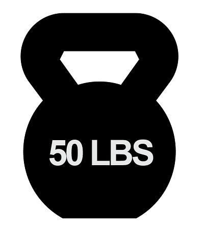 50 lbs