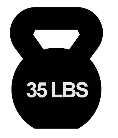 35 lbs